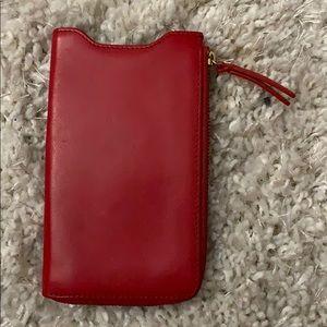 Wallet/phone holder
